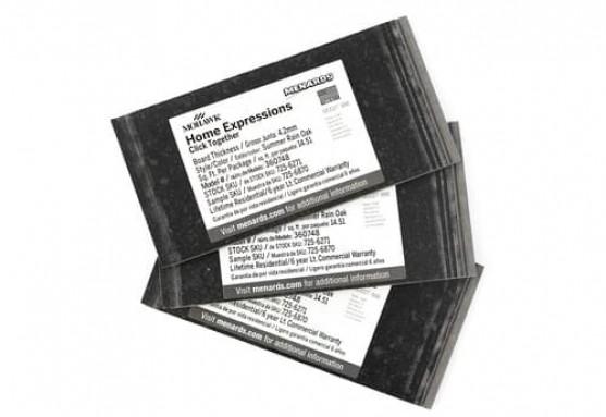 Small Print Label